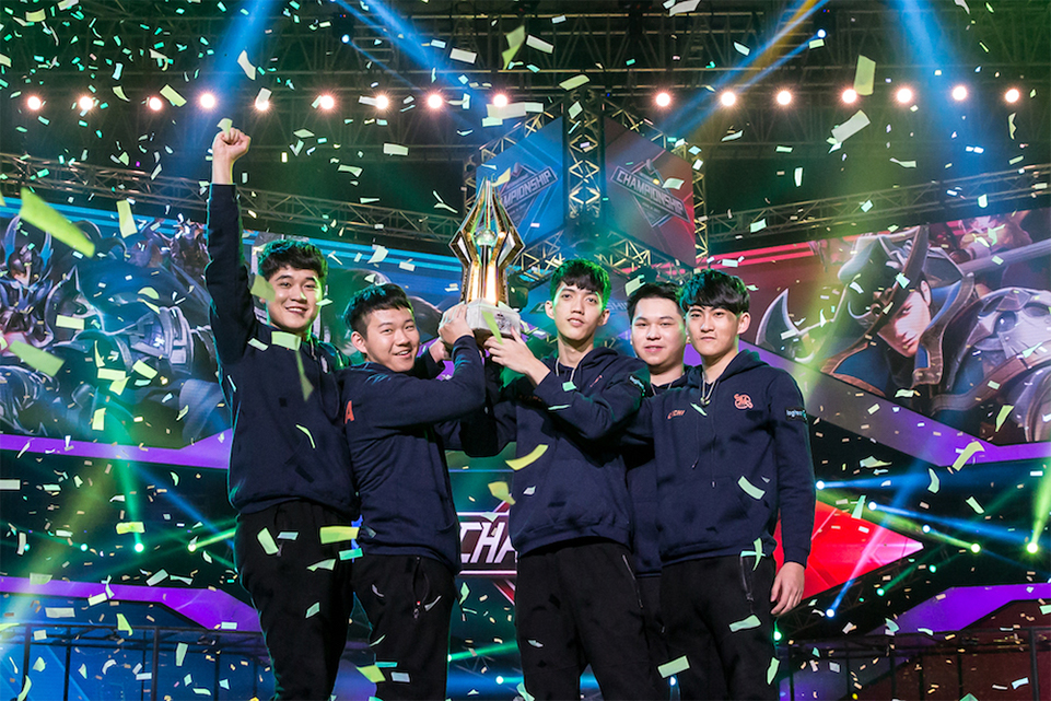 Arena of Valor Taiwanese team SMG wins AIC