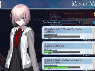 FGO Master Missions - February 19 ~ February 26