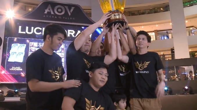 WIL NE 2018 AOV Valor Cup Grand Champions