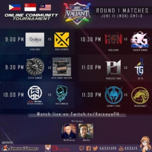 AOV Valiant Online Community Tournament Day 3