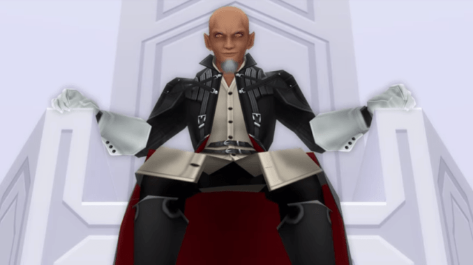 Details about Master Xehanort