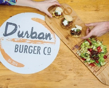 D'urban Burger Co. is the first sub-product of My Gourmet, created by Chef Khutso Nhlanhla Masethe. At Durban'Burger Co., food is an experience of the culture around you.