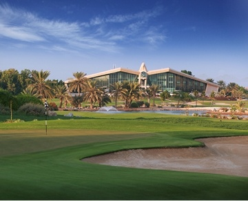 An oasis of tranquillity carved out of the desert, Abu Dhabi Golf Club offers one of the most luxurious golf resort experiences in the Middle East. The 27-hole championship course, managed by the world-renowned Troon Golf, weaves through undulating terrain that features palms, ornamental trees and shrubs, as well as nice spectacular saltwater lakes. Located just 15 minutes from the city centre and just 10 minutes from Abu Dhabi International Airport, the club is ideally situated for domestic and