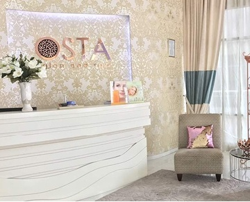 Osta, meaning haven in Latvian, is a female-only spa where we invite you to relax and rejuvenate your mind, body and soul. Indulge in our crafted menu using highly certified organic products endorsed with Ecocert and Cosmebio certifications and a selection of traditional herbs - the best complements from mother nature. Engage our fully trained and certified therapists for your choice of treatments - they are committed to ensuring your well-being is well taken care of.