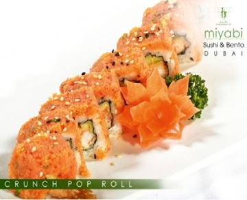 Fresh from the cosmopolitan streets of San Francisco to the modern Emirate of Dubai. Miyabi is a Japanese casual eatery offering a wide range of menu varieties, from salads and light bites such as maki, nigiri, temaki cones and sashimi to a selection of ramen, fried noodles, donburi rice bowls and hotpots as well as some Korean dishes.