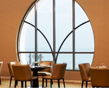East meets West at this all-day dining restaurant which serves predominantly International and regional cuisine. Enjoy an express lunch buffet or dinner at Vine with an extensive selection of International cuisine and a scenic terrace to dine on.