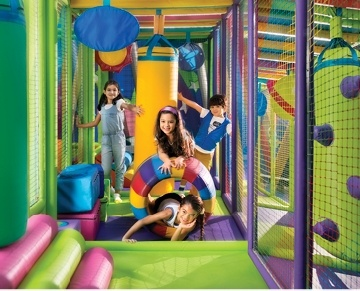 • The leading family entertainment centre in the region  • Exciting rides for teens and kids  • Children's play area where kids can jump, swing and slide  • The latest video games  • Skill games  • Rides and attractions