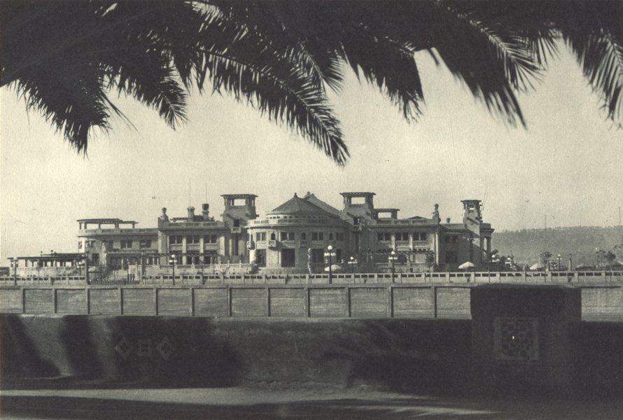 Enterreno - Fotos históricas de chile - fotos antiguas de Chile - Casino Municipal de Viña en 1932