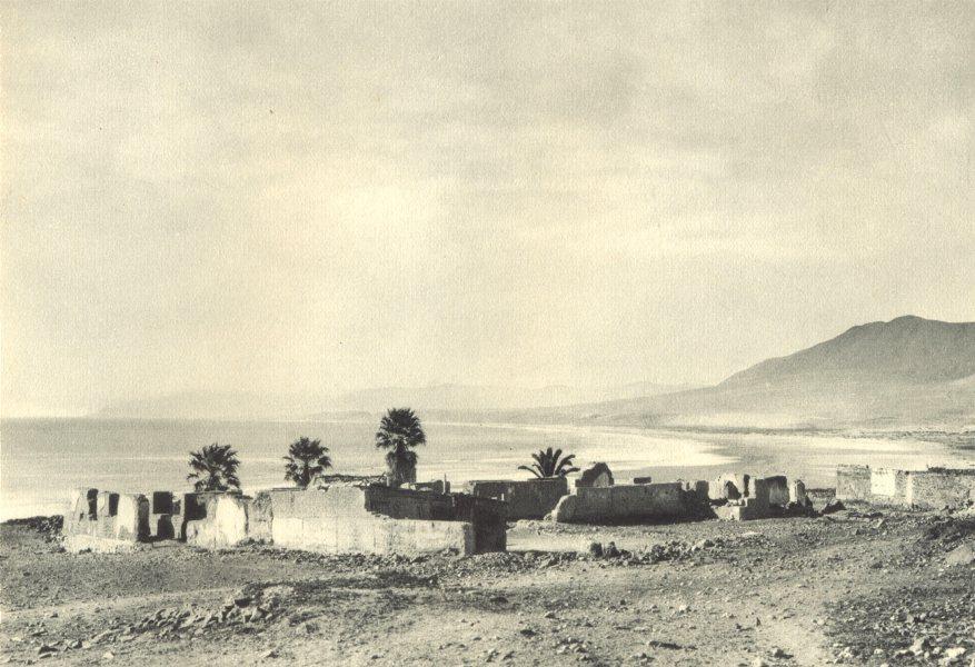 Enterreno - Fotos históricas de chile - fotos antiguas de Chile - Huasco en 1932