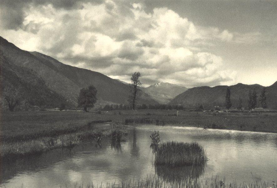 Enterreno - Fotos históricas de chile - fotos antiguas de Chile - Curillinco, Río Maule en 1932