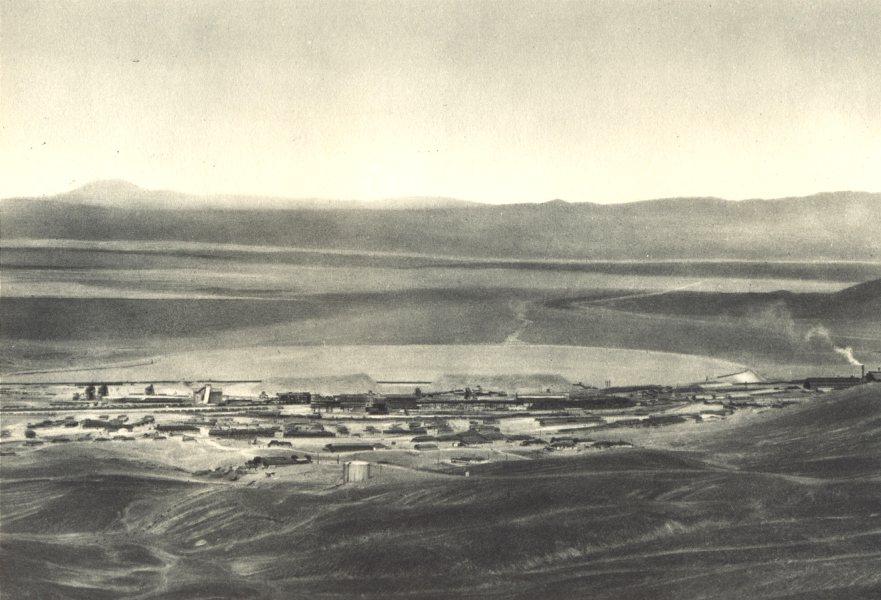 Enterreno - Fotos históricas de chile - fotos antiguas de Chile - Vista de Chuquicamata en 1932