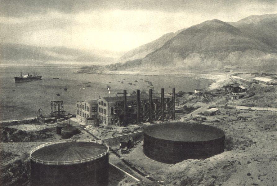 Enterreno - Fotos históricas de chile - fotos antiguas de Chile - Chañaral en 1932