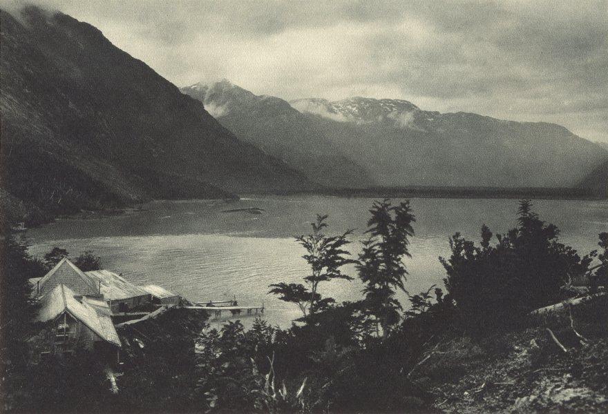 Enterreno - Fotos históricas de chile - fotos antiguas de Chile - Río Baker en 1932