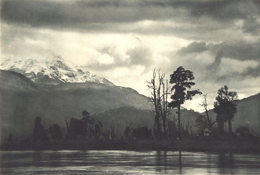 Enterreno - Fotos históricas de chile - fotos antiguas de Chile - Puerto Aysén en 1932