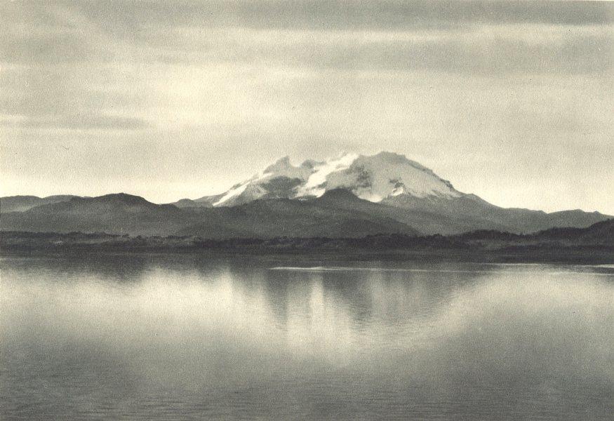 Enterreno - Fotos históricas de chile - fotos antiguas de Chile - Monte Burney en 1932