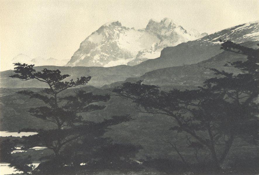 Enterreno - Fotos históricas de chile - fotos antiguas de Chile - Cerro Balmaceda en 1932
