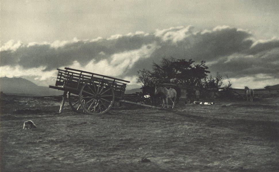 Enterreno - Fotos históricas de chile - fotos antiguas de Chile - Cercanías de Balmaceda en 1932