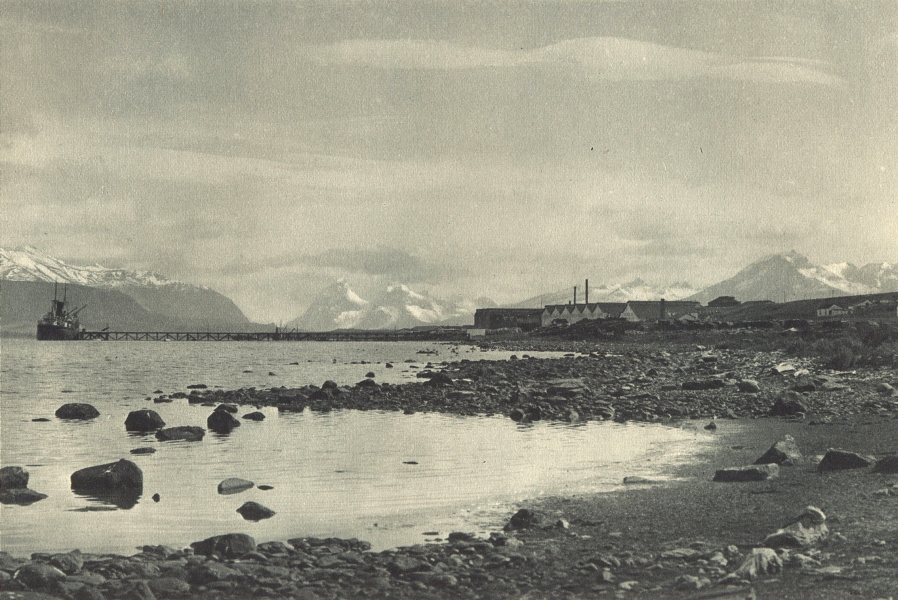Enterreno - Fotos históricas de chile - fotos antiguas de Chile - Puerto Bories en 1932