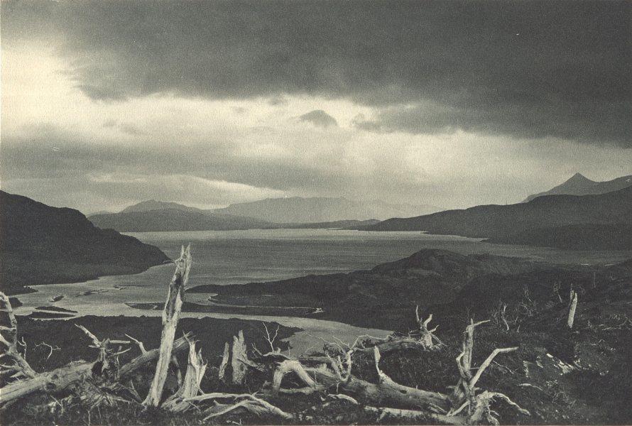 Enterreno - Fotos históricas de chile - fotos antiguas de Chile - Lago del Toro en 1932