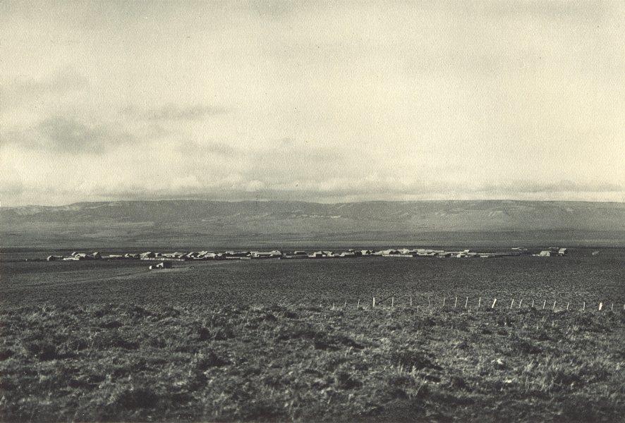 Enterreno - Fotos históricas de chile - fotos antiguas de Chile - Balmaceda en 1932
