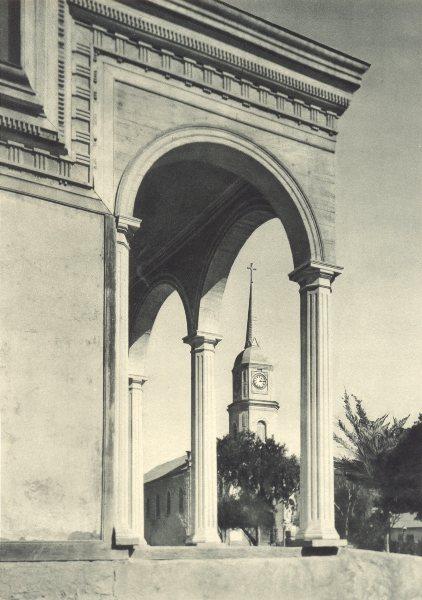 Enterreno - Fotos históricas de chile - fotos antiguas de Chile - Iglesia de Freirina en 1932