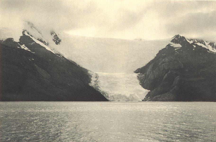 Enterreno - Fotos históricas de chile - fotos antiguas de Chile - Ventisquero Italia en 1932