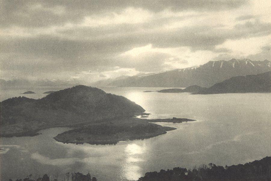 Enterreno - Fotos históricas de chile - fotos antiguas de Chile - Canal Murray en 1932