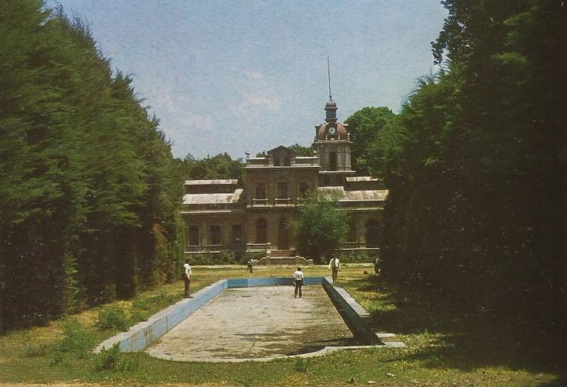 Enterreno - Fotos históricas de chile - fotos antiguas de Chile - Palacio Hacienda Quilpué, ca. 1985