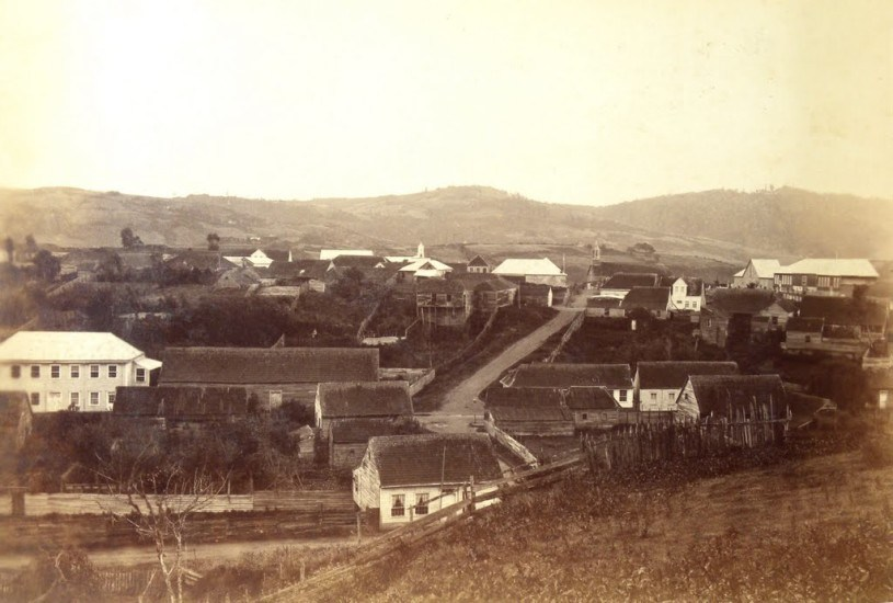 Enterreno - Fotos históricas de chile - fotos antiguas de Chile - Ancud, Chiloé, 1893.