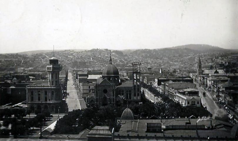 Enterreno - Fotos históricas de chile - fotos antiguas de Chile - Valparaíso en 1934