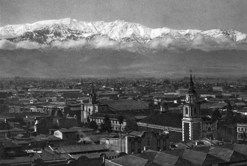 Enterreno - Fotos históricas de chile - fotos antiguas de Chile - Santiago en 1932