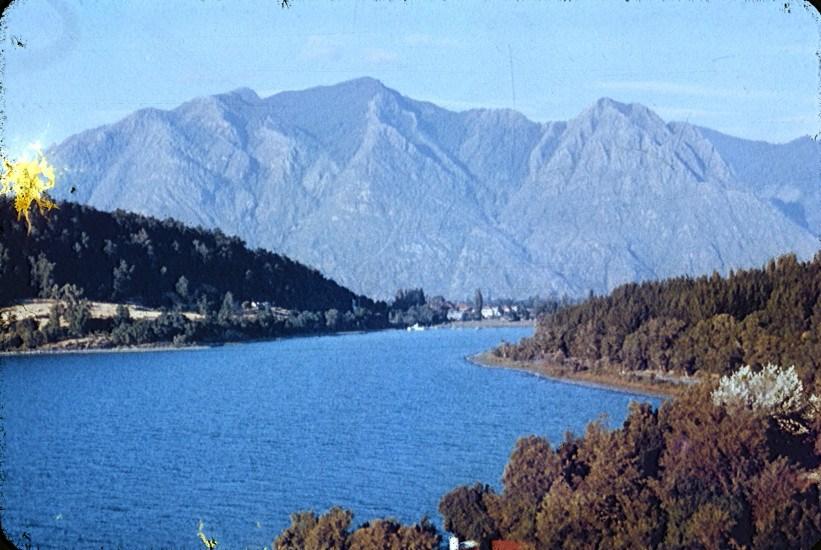 Enterreno - Fotos históricas de chile - fotos antiguas de Chile - Lago Villarrica en la década de 1960
