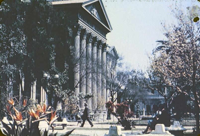 Enterreno - Fotos históricas de chile - fotos antiguas de Chile - Congreso Nacional en la década de 1960