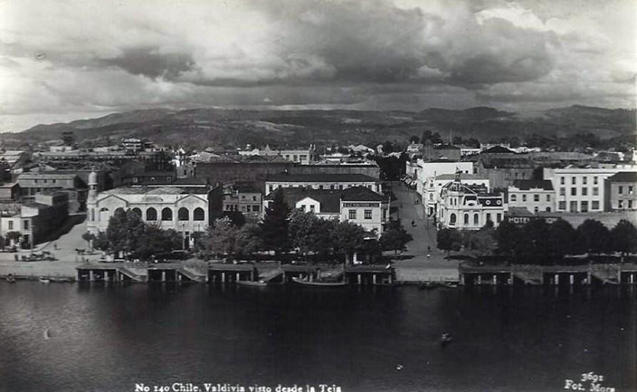 Enterreno - Fotos históricas de chile - fotos antiguas de Chile - Valdivia en los años 40s