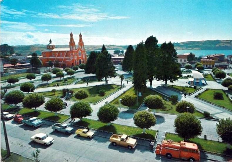 Enterreno - Fotos históricas de chile - fotos antiguas de Chile - Castro en 1970