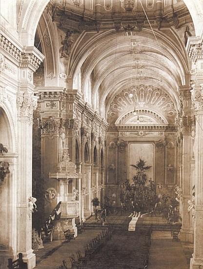 Enterreno - Fotos históricas de chile - fotos antiguas de Chile - Iglesia de la Matriz, talca en 1890