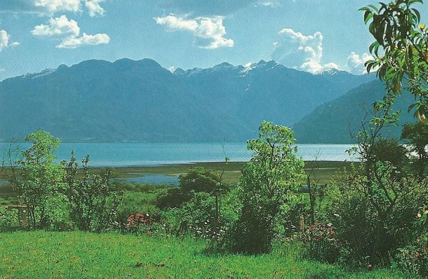 Enterreno - Fotos históricas de chile - fotos antiguas de Chile - Lago todos los santos 1987