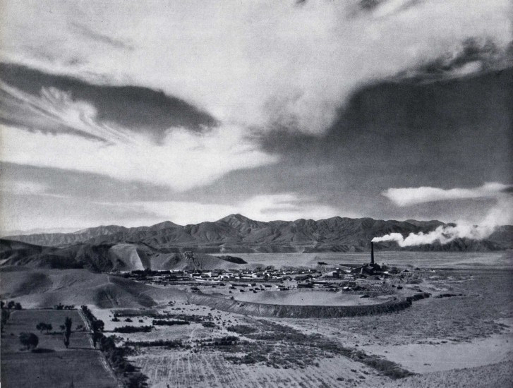 Enterreno - Fotos históricas de chile - fotos antiguas de Chile - Paipote 1959
