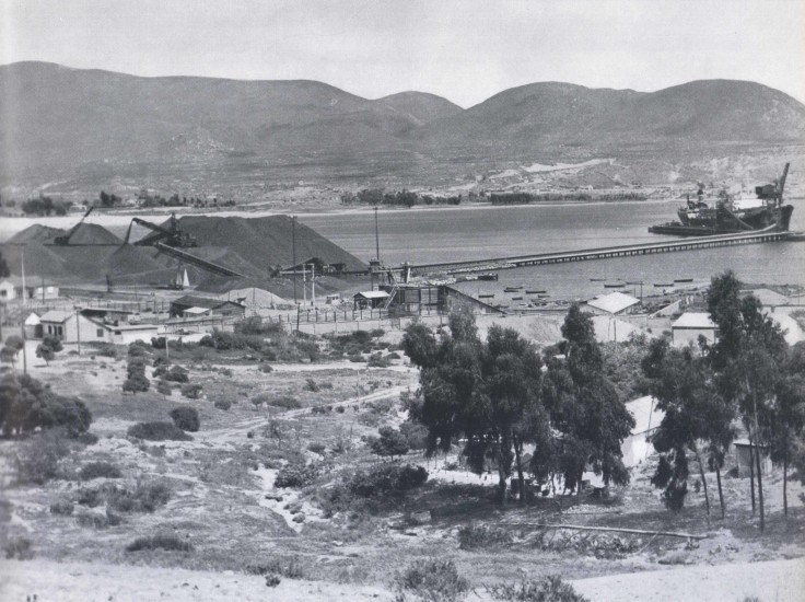 Enterreno - Fotos históricas de chile - fotos antiguas de Chile - Guayacan 1959