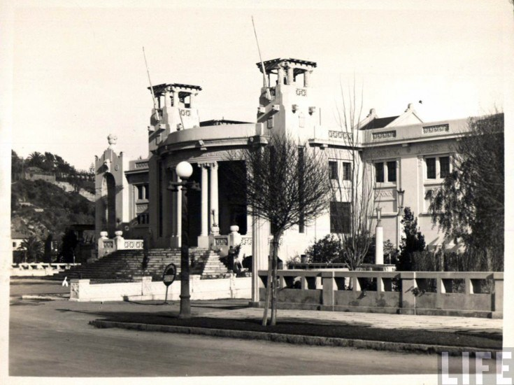 Enterreno - Fotos históricas de chile - fotos antiguas de Chile - Casino Viña del Mar 1930s