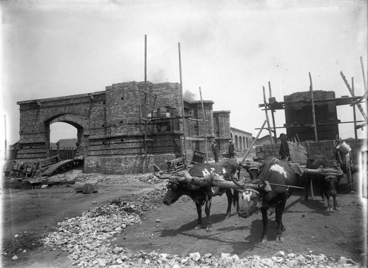 Enterreno - Fotos históricas de chile - fotos antiguas de Chile - Estación Mapocho en 1907