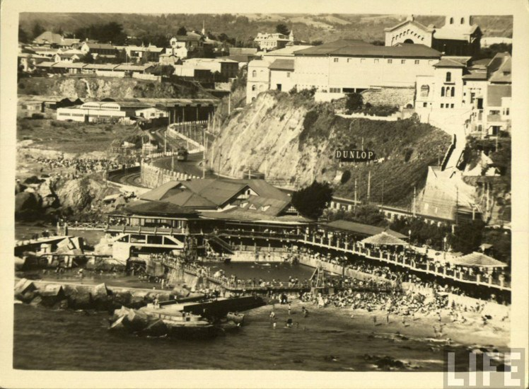 Enterreno - Fotos históricas de chile - fotos antiguas de Chile - Piscinas de Recreo 1930s