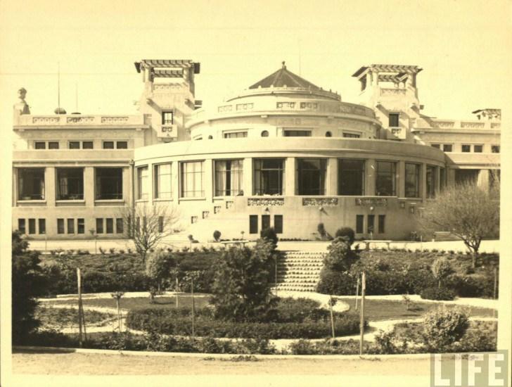 Enterreno - Fotos históricas de chile - fotos antiguas de Chile - Casino Municipal de viña del mar 30s