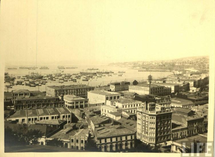 Enterreno - Fotos históricas de chile - fotos antiguas de Chile - Valparaíso en los años 30s
