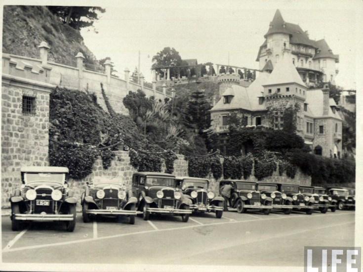 Enterreno - Fotos históricas de chile - fotos antiguas de Chile - Club Árabe en Avenida La Marina de Viña del Mar, ca. 1930