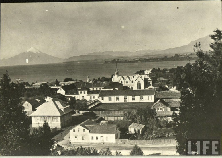 Enterreno - Fotos históricas de chile - fotos antiguas de Chile - Puerto Varas, ca. 1930