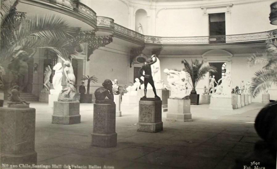 Enterreno - Fotos históricas de chile - fotos antiguas de Chile - Museo Nacional de Bellas Artes de Chile en los años '30s