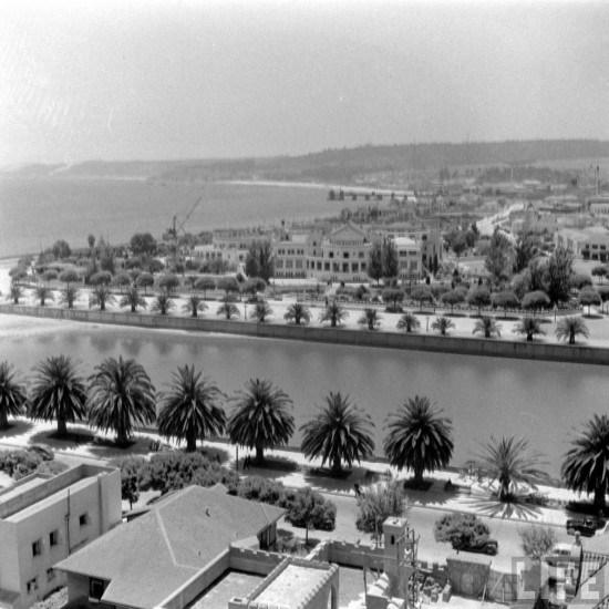 Enterreno - Fotos históricas de chile - fotos antiguas de Chile - Estero Marga Marga de Viña del Mar en 1941