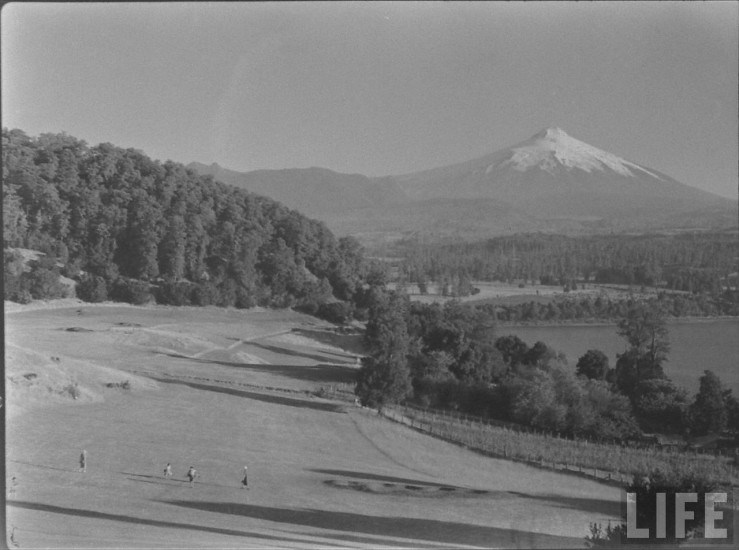 Enterreno - Fotos históricas de chile - fotos antiguas de Chile - Cercanias Villarrica 1941