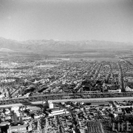 Enterreno - Fotos históricas de chile - fotos antiguas de Chile - Comunas de Providencia y Ñuñoa en 1941